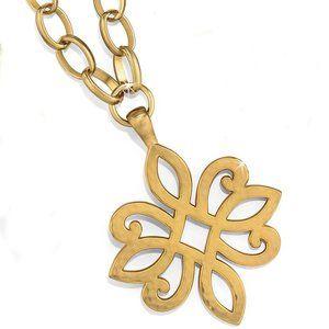 Brighton Versailles Apollo RETIRED Gold Necklace